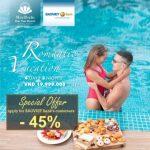 Ưu đãi tới 45% cho khách hàng BaoViet Bank khi nghỉ dưỡng tại Merperle Nha Trang