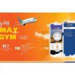 Đặt vé máy bay - Rinh máy tập Gym với Ebank SHB
