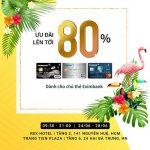 Super sale up to 80% của DAFC dành cho thẻ Eximbank