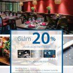 Khuê Restaurant ưu đãi cho tất cả chủ thẻ Eximbank