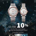 Đồng hồ TISSOT ưu đãi giảm giá cho chủ thẻ Eximbank