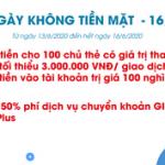 Cùng GPBank hưởng ứng Ngày không tiền mặt - 16/6