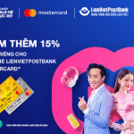 Lazada Sale hè rực rỡ - Ưu đãi dành riêng cho chủ thẻ LienVietPostBank MasterCard