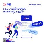 MB ra mắt dịch vụ tài khoản số đẹp trên App MBBank