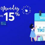 MB giảm ngay 15% khi mua sắm tại Shopee và Tiki vào thứ 2