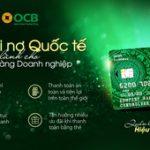 OCB ra mắt thẻ ghi nợ quốc tế dành riêng cho doanh nghiệp