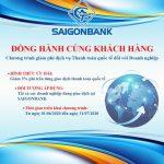 SaiGonBank giảm phí dịch vụ thanh toán quốc tế đối với doanh nghiệp