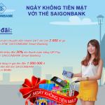 SaiGonBank hưởng ứng Ngày không tiền mặt