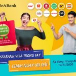 Ưu đãi thả ga với thẻ SeABank Visa