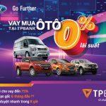 TPBank hợp tác Ford Việt Nam cho vay mua ô tô lãi suất 0%
