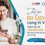 Ưu đãi lên tới 200.000đ khi mua vé máy bay qua Olala trên Ví Việt