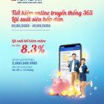 Gửi tiết kiệm online truyền thống 365 tại VietABank