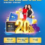 Xài thẻ Visa, Bao la ưu đãi cùng VietABank