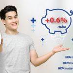 Ưu đãi kép dành cho khách hàng gửi tiền online tại BIDV