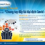 DongA Bank cho vay ưu đãi 1.000 tỷ đồng góp phần Chung tay đẩy lùi đại dịch Covid-19