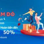 Lễ hội mua sắm đỏ Việt Nam 2020 tại Vincom với thẻ Sacombank