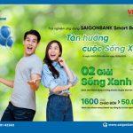 SaiGonBank Smart Banking - Trải nghiệm dịch vụ, tận hưởng cuộc sống xanh