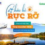 Mua vé máy bay nội địa trên Ví Việt, nhận ngay quà tặng từ Gotadi