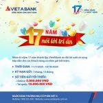 Chương trình 17 năm nói lời tri ân của VietABank