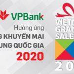 Ăn thỏa thích - Chơi hết mình dành cho chủ thẻ VPBank trong Vietnam Grand Sale 2020