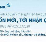 Gửi vốn mới, tới nhận quà cùng lãi suất ưu đãi tại Eximbank