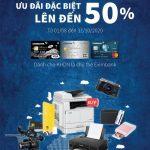 Lê Bảo Minh giảm giá các sản phẩm Canon cho chủ thẻ doanh nghiệp Eximbank