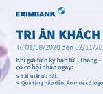 Lãi suất hấp dẫn khi gửi tiền VNĐ với chương trình Tri ân khách hàng của Eximbank