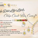 Mua tuyệt tác nữ trang - Nhận ngàn khuyến mãi cùng thẻ HDBank