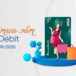 Hoàn tiền mua sắm với Sacombank Visa Debit