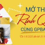 Mở thẻ rinh quà cùng GPBank