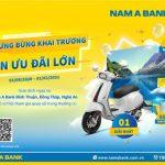 Cơ hội trúng thưởng lớn khi giao dịch tại Nam A Bank