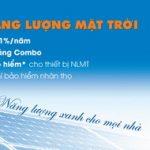 Vay mua thiết bị điện năng lượng mặt trời cùng Sacombank