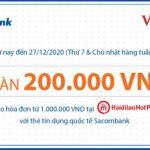 Ưu đãi mỗi tuần tại Haidilao Hotpot với thẻ Sacombank