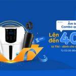 Combo ưu đãi lên đến 400.000 VND tại Tiki dành cho thẻ Sacombank