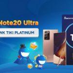 Săn ngay Samsung Note 20 Ultra với thẻ Sacombank Tiki Platinum