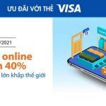 Ưu đãi với thẻ Sacombank Visa khi mua sắm online nước ngoài Extrabux