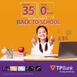TPBank giảm đến 35% và trả góp 0% lãi suất cho các khóa học và mua sắm đồ dùng học tập online