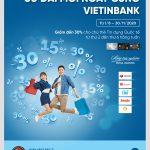 Ưu đãi mỗi ngày cùng thẻ Tín dụng Quốc tế VietinBank