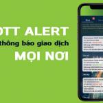 OTT Alert - Tính năng nhận thông báo biến động số dư trên VCB Digibank hoàn toàn miễn phí