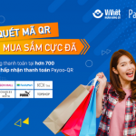 Quét mã Payoo QR - Mua sắm cực đã cùng LienVietPostBank