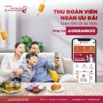 Nhận ngay ưu đãi 100.000 VND khi mua sắm trực tuyến trên ứng dụng Agribank E-Mobile Banking