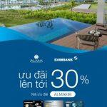 Alma Resort ưu đãi lớn dành cho chủ thẻ Eximbank