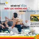 Khách hàng vay,  tặng ngay máy lọc không khí cùng thẻ HDBank MasterCard