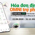 Nhận hoàn tiền khi thanh toán hóa đơn tự động với OCB OMNI
