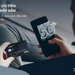 Hoàn 50% giá trị giao dịch với thẻ tín dụng MB Priority Visa Platinum