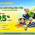 Nam A Bank dành nhiều ưu đãi cho vay nông nghiệp