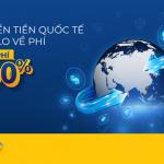 Chuyển tiền quốc tế nhanh chóng, miễn phí 100% với PVcomBank