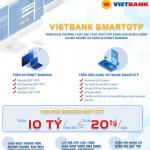 Xác thực giao dịch Soft OTP trên ứng dụng Vietbank Digital cho khách hàng doanh nghiệp