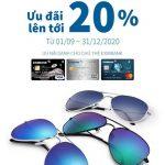 Mắt kính Sun Wear Boutique ưu đãi dành cho chủ thẻ Eximbank