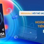 Megasale với thẻ Sacombank Tiki Platinum